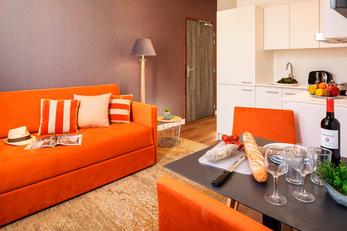 Résidence appart hôtel Le Commerce Saint-Gaudens