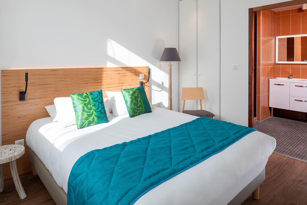 Chambre Résidence appart hôtel Le Commerce Saint-Gaudens